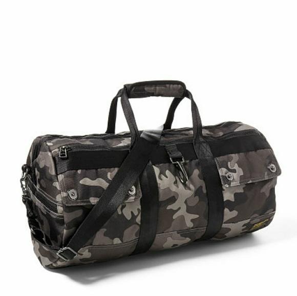 1e46c79245 Polo Ralph Lauren Camouflage Duffle Bag